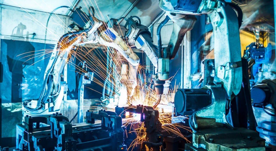Welding Robots Factory